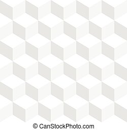 立方体, 三色旗, -, repeatable, 背景, 幾何学的, seamlessly, 3d