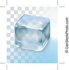 立方体, 氷, カクテル