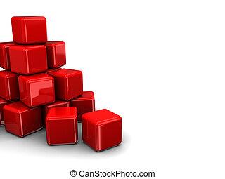 立方体, 積み重ね