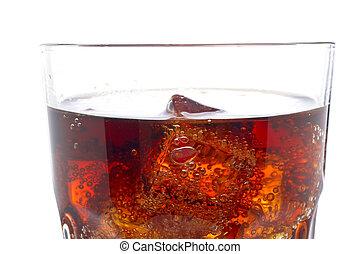 立方体, 細部, 氷, ソーダ