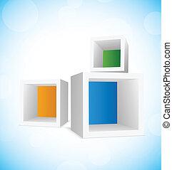立方体, 背景