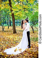站立, 夫婦, 婚禮
