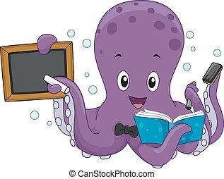 章魚, 老師