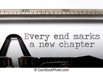 端, 章, あらゆる, 新しい