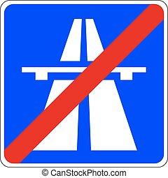 端, 高速道路