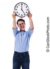 端, work!, finally, home!, 時間, 行きなさい