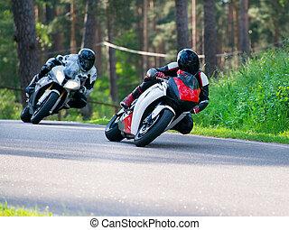 競争, モーターバイク