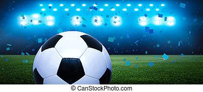 競技場, 自然, 草, 活躍の舞台, サッカー, 緑