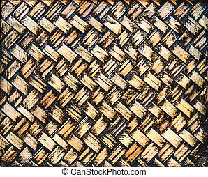 竹, 古い, 手ざわり, 背景