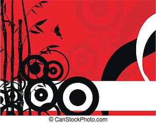 竹, 背景, 6