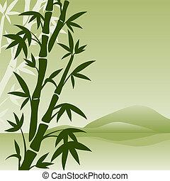 竹, 風景