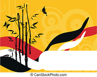 竹, 3, 背景