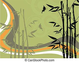 竹, 4, 背景