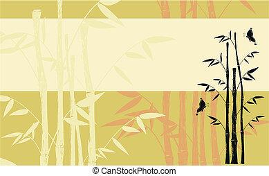 竹, background06
