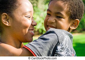 笑い, 家族, アフリカ