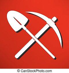 符号, 铁锨, 选择