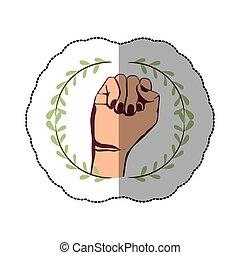 符號, 握緊拳頭