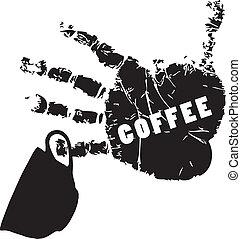 符號, ......的, 咖啡