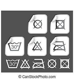 符號, 願望, 標籤, 洗滌