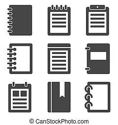 筆記本, 圖象, 集合