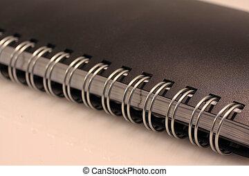 筆記本, 戒指, 特寫鏡頭