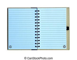 筆記本, 被隔离, 在懷特上