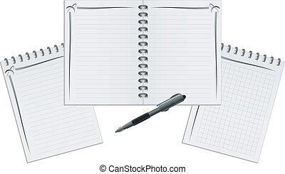 筆記本, 集合