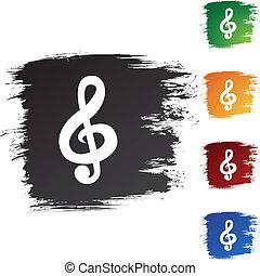 筆記, 音樂