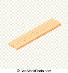 等大, スタイル, 板, 寄せ木張りの床, アイコン, 3d
