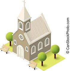 等大, ベクトル, 教会