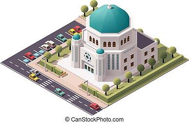 等大, ベクトル, synagogue