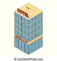 等大, ホテル, アイコン