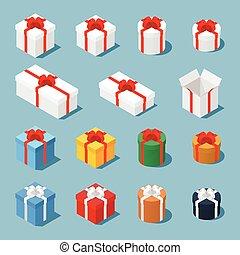 等大, 箱, 贈り物