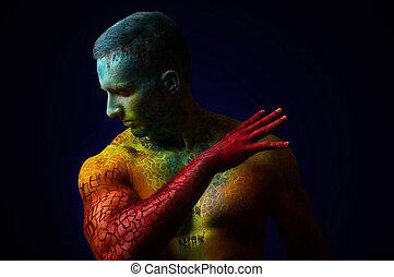 筋肉人, ∥で∥, ファンタジー, 体芸術