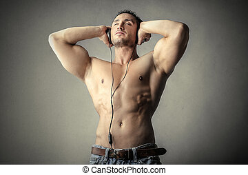 筋肉, 人