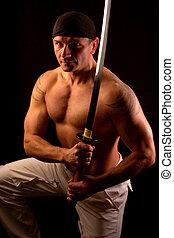 筋肉, 剣, 人