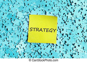 策略, 词汇