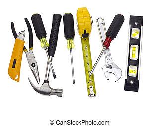 签, 在中, 工具