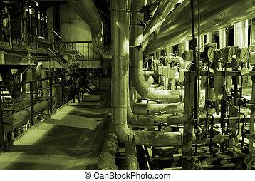 管子, 裡面, 能量, 植物