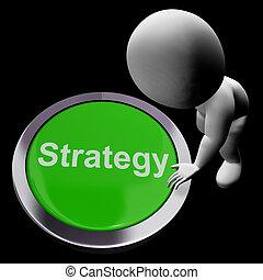 管理, ゴール, ビジネス, ボタン, 解決, 作戦, ∥あるいは∥, ショー