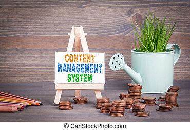 管理, ビジネス, 春, concept., 水まきシステム, 内容, ミニチュア, 緑, 小さい, 新たに, 草, ポット, 変化しなさい