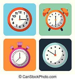 管理, 事務, 鐘, 警報, 計劃, 時間, stopwatch