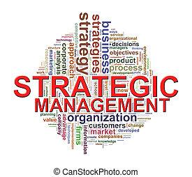 管理, 単語, タグ, 戦略上である