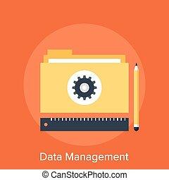 管理, 数据