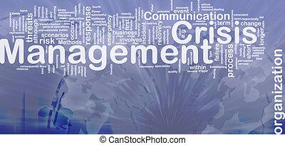管理, 概念, 危機, 背景
