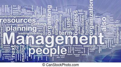 管理, 概念, 背景
