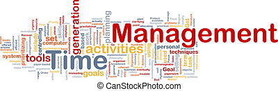 管理, 概念, 背景, 時間