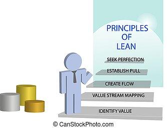 管理, 概念, lean, 原則