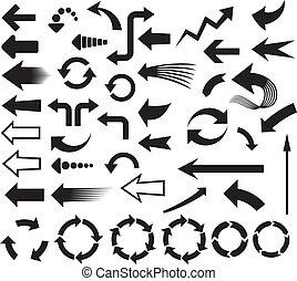 箭, 圖象, (arrows, 圖象, set)