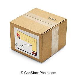 箱子, 包裹